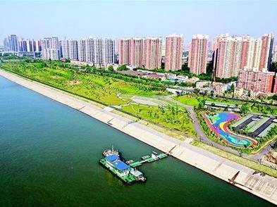 清理六成碼頭植樹兩萬畝 武漢扮靚兩江核心區岸線