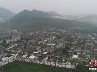 航拍宜宾6.0级地震震中双河镇