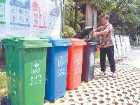 江夏垃圾分类宣传入户,全区总动员