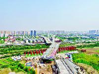 杨泗港快速通道下月全线通车 从南湖到汉阳开车仅需20分钟