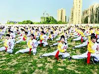 扇子操、啦啦操、军体拳……武汉中小学课间操玩出新花样