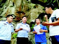 """民警跨地域启动""""密防快反"""" 为青山绿水立起保护网"""
