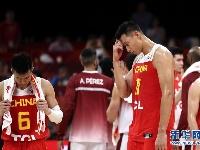 篮球世界杯小组赛:中国队59比72负于委内瑞拉队