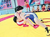 摔跤吧 阳光少年