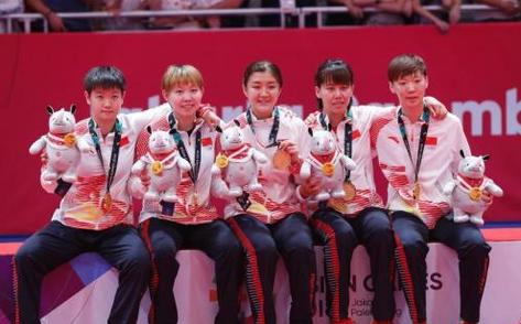 乒乓球亚锦赛半决赛轻松过关 中日女团决赛将演遭遇战