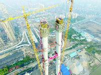"""多项""""世界之最""""    杨泗港长江大桥:见证中国悬索桥技术领跑全球"""
