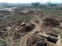襄阳发现东周时期公墓群 出土400多件珍贵文物
