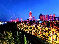 央视先后十次聚焦 游客满意率达99.41% 武汉成黄金周热门旅游网红城市
