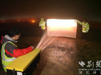 湖北计量人深夜奋战 为平安飞行护航