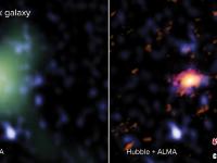 宇宙大爆炸15亿年后形成大质量旋转星系盘被发现