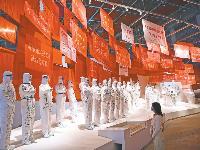 抗疫展今日武汉客厅开展——千余件展品铭刻伟大抗疫精神
