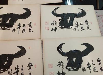 """绘出1500份""""鼠""""和""""牛"""" 武汉手艺人为援鄂医疗队寄出新春礼物"""