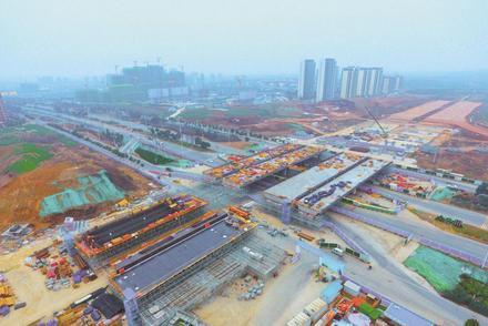 襄阳环线建设提速