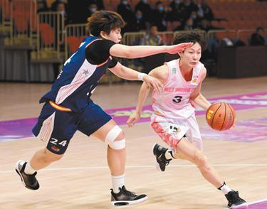中国女子篮球联赛 内蒙古队夺得冠军