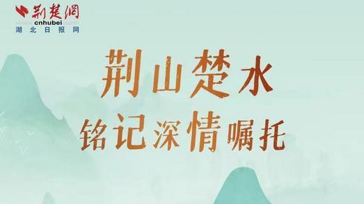 """荆山楚水,牢记总书记的""""长江嘱托""""!"""