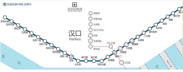 來大武漢上好大學,這些學校地鐵直達