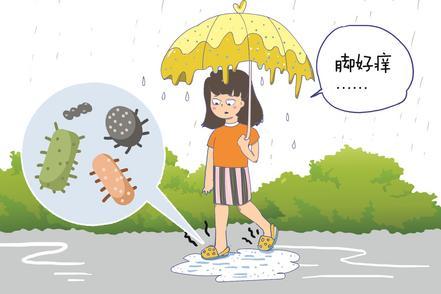 """梅雨季高溫高濕,醫院里皮膚病患者明顯增多 醫生教你黃梅天預防身體""""發霉"""""""