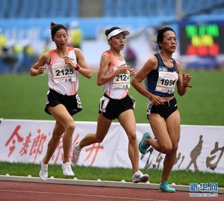 全國錦標賽:王開麗獲女子10000米冠軍