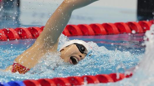 第14金!中国队夺得东京奥运会游泳女子4x200米自由泳接力金牌