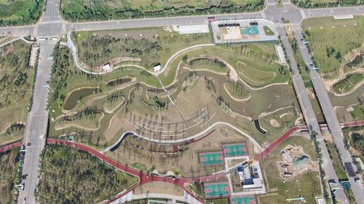 部分水道和绿道已建成,光谷生态大走廊二期雏形显现