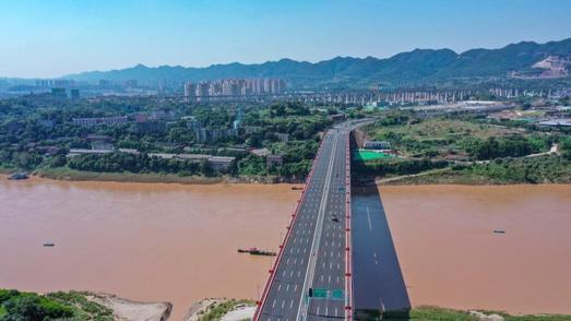 国内首座上承式大跨径梁拱组合预应力体系刚构桥建成投用