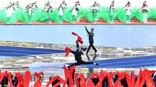 体育的盛会,人民的节日,武汉市第十一届运动会16日开幕